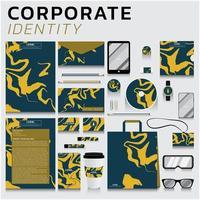 identidade corporativa para empresas vetor