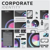 identidade de marca para empresas vetor