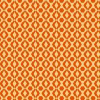 padrão sem emenda retrô laranja claro e escuro vetor