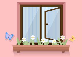 Vetor de janela livre