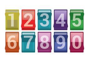 Vetores de contador de números