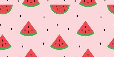padrão de melancia sem emenda vetor