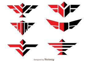 Logotipo Symmetric Hawk Logo