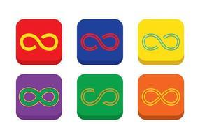 Vetor de loop infinito