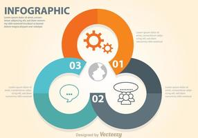 Diagrama de círculo do diagrama de negócios vetor