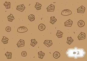 Free Bake Sale Pattern # 2 vetor