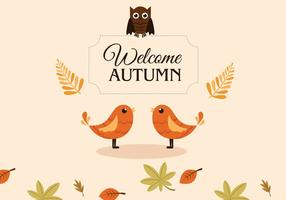 Outono Pássaros