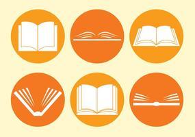 Ler ícones do círculo vetor