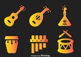 Instrumento Musical Tradicional vetor