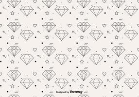 Padrão de diamante de vetor livre
