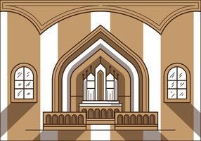 Ilustração gratuita do Altar da Igreja vetor