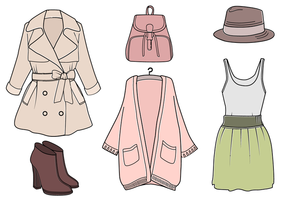 Vector de roupas grátis