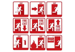Vetor de saída de emergência