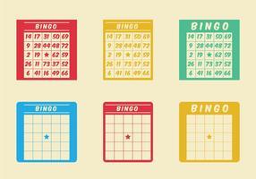 Ícone grátis do vetor do cartão de bingo
