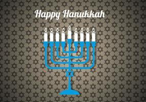 Livre vetor Hanukkah feliz