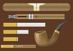 Artigos de vetores de tabaco