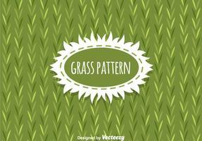Vetor de fundo do padrão Grass