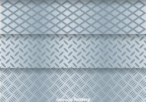 Grade de metal de alumínio vetor