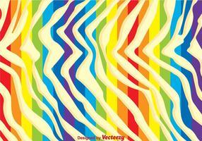 Fundo da cópia da zebra do arco-íris vetor