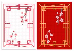 Gráfico japonês livre de Soroban vetor