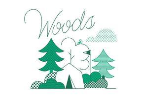 Vetor de madeiras grátis