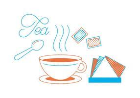 Vetor de chá grátis