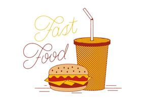Vector Fast Fast Food