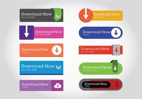 Download de vetores do botão