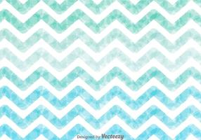Watercolour Zig Zag Background Vector