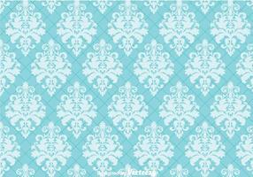 Blue Ornament Wall tapesstry vetor