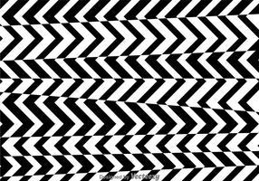 Padrão em preto e branco