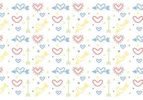 Free Heart Vector Pattern # 5