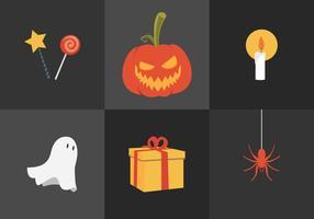 Abóbora Halloween Halloween vetor
