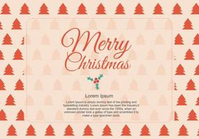 Cumprimento de Natal vetor