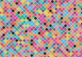 Livre Vector de fundo quadrado colorido