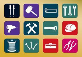 Vetores de ícones de ferramentas