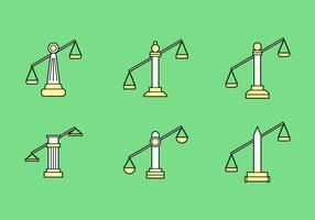Ícones de livros de escritório de direito gratuito # 4 vetor