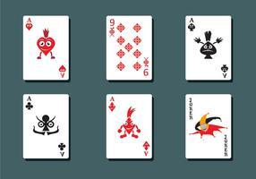 Vetor de baralho de cartas