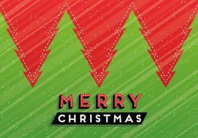 Feliz Natal Fundo do vetor