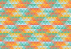 Resumo do padrão geométrico do triângulo abstrato vetor