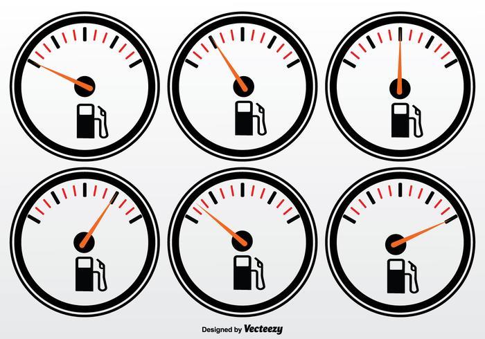 Set vettoriale di carburante