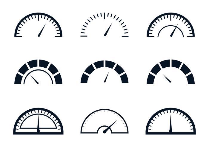 Indicatore del livello del carburante vettore