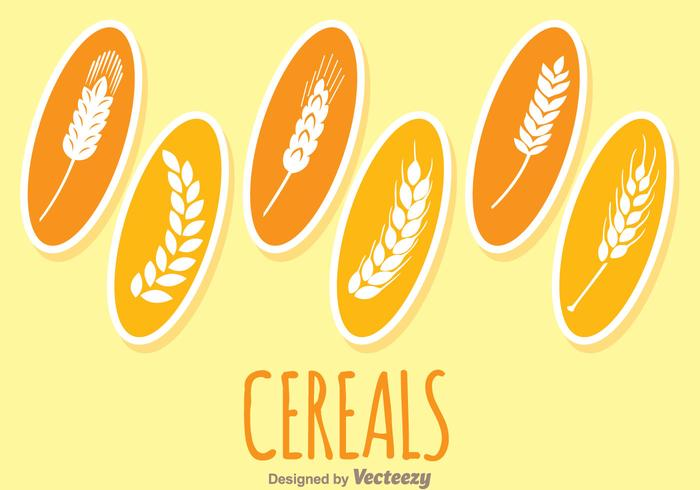 Piante di cereali vettore
