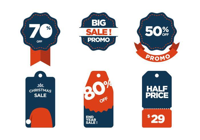 Simboli di vendita vettoriale