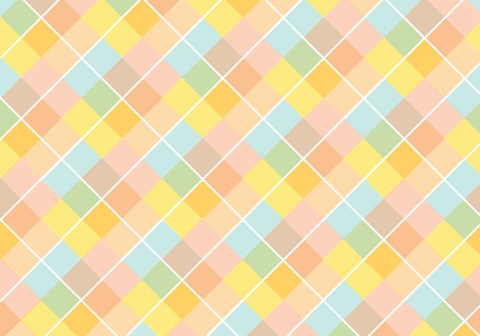 Pastello Diamond Pattern Vector
