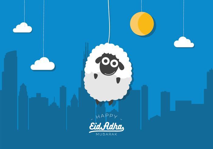 Vettore Eid Al Adha