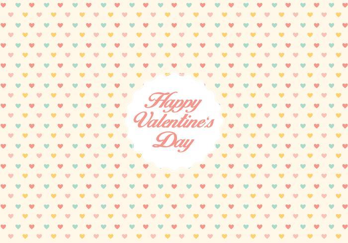 Priorità bassa del reticolo del cuore di San Valentino vettore