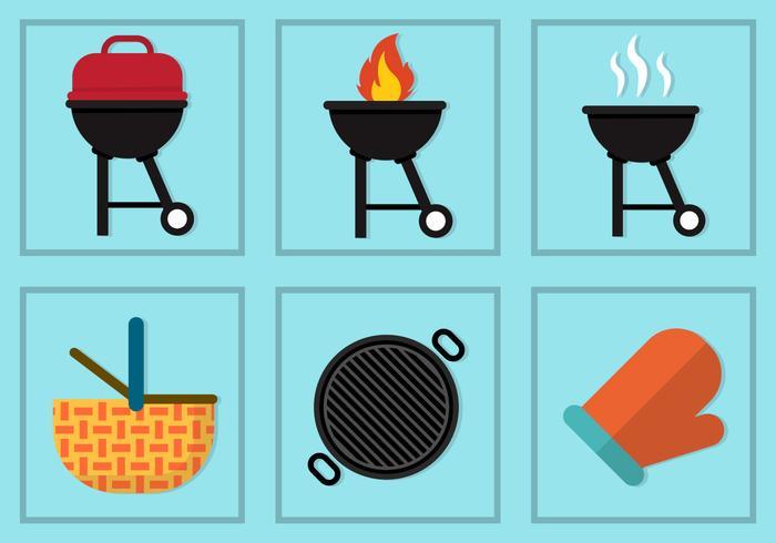 Vettore di barbecue