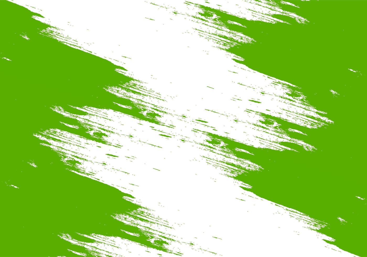 disegno astratto verde pennellata vettore