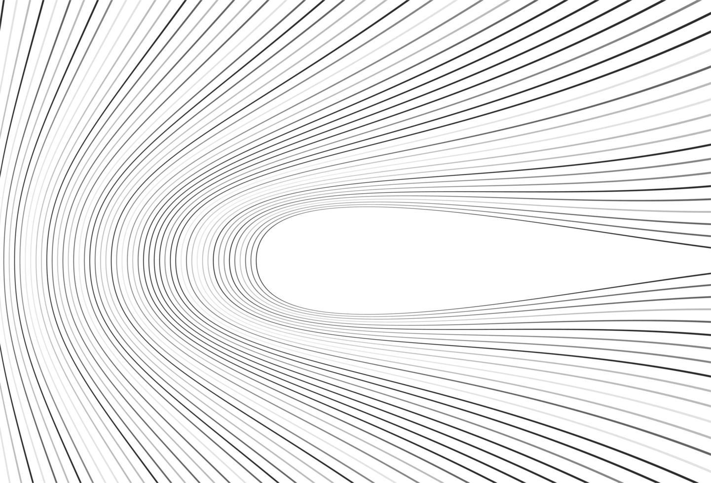 modello moderno di linee piegate grigie vettore